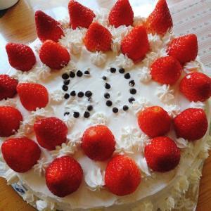 とうちゃん(夫)🧔50歳の誕生日🎂おめでと~👋😆🎶✨~いいえ、今日で49歳です🧔~