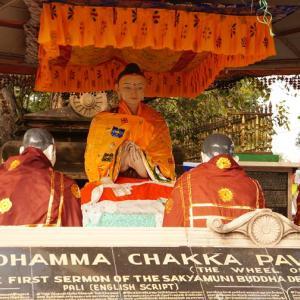第10回 ブッダを探しにインドに行く サールナート ダメーク・ストゥーパ 五比丘に初転法輪した場所 鹿野園