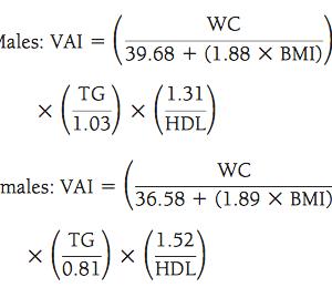内臓脂肪指数(VAI)の謎