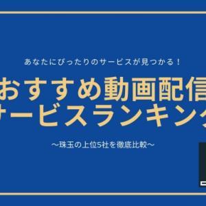 動画配信サービス人気ランキング2020|珠玉のおすすめ5社を徹底比較!