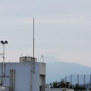 富士が見える空