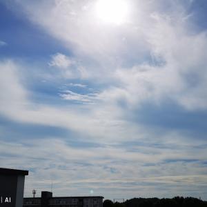 多摩ニュータウンから空だより/2020年10月20日