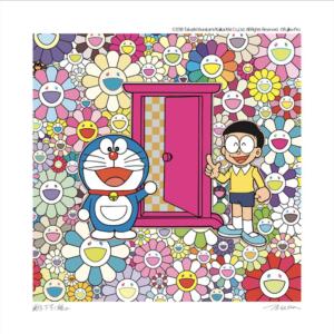 【2019/12/19(土)発売】藤子・F・不二雄ミュージアム 村上隆 ドラえもん版画 再販