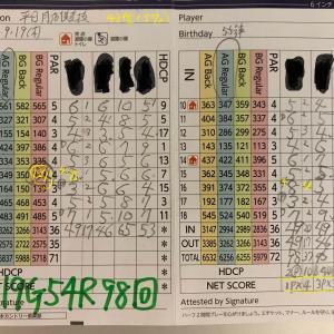今日のゴルフ挑戦記(280)/東名厚木CC/アウト→イン(A)