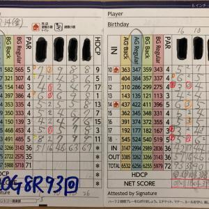 今日のゴルフ挑戦記(310)/東名厚木CC/イン→アウト(A)
