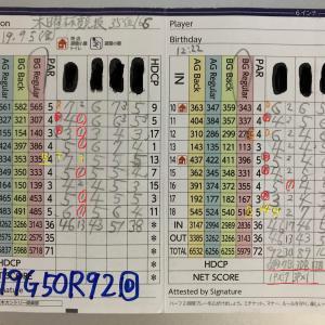 今日のゴルフ挑戦記(276)/東名厚木CC/アウト→イン(B)