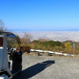 ジャイロキャノピーで信貴山に行ってみた。