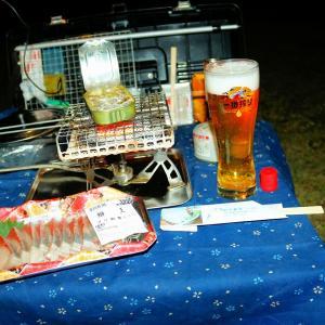 今年最後?のキャンプツーリング(その3・文化ラーメン&また温泉&いよいよキャンプ)
