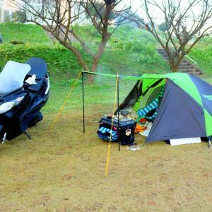 今年最後?のキャンプツーリング(その8・お楽しみの晩酌タイム2日目&朝ごはん)