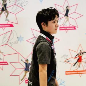 昌磨君は2015年グランプリファイナル、バルセロナでサインを残しました。