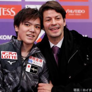 2019.11.19 ステファン・ランビエール 今週末は札幌NHK杯に登場