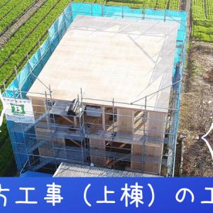 建て方工事(上棟)の工程②(BESSの家建築ログ⑦)