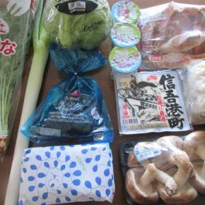 糖質制限の新常識  ☆  今日の買い物  ☆  蟹鍋