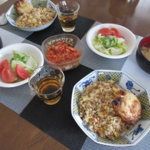 お昼と晩御飯