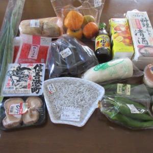 後始末続きます。 トホホ  ★  買い物  ★  味付き豚肉炒め