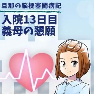 入院13日目、義母の懇願【脳梗塞闘病記29】