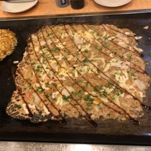 食レポ B級グルメ てこじまん(お好み焼き 福岡県北九州市小倉南区下曽根)