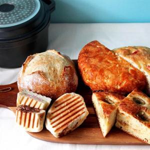 試作☆混ぜるだけのキャラメルパン