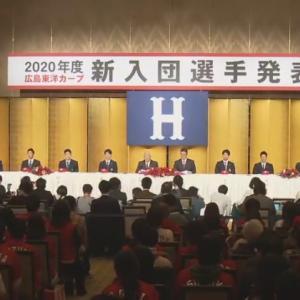カープ新入団選手会見を〝ぽるぽるライブ〟で視聴