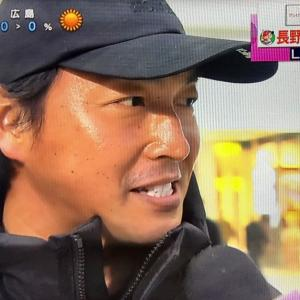 長野さん、今度は広テレにサプライズ出演。