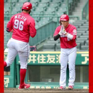 6/3カープ練習試合vs阪神●3-10今日も負け負け。