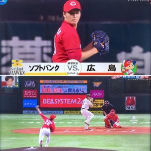 カープ、練習試合ラストスパート。福岡で勝った。