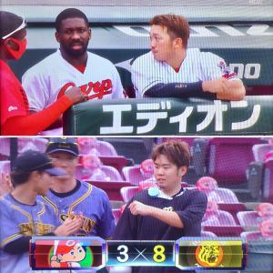 ●カープ、阪神に連敗。ズムスタでも勝てません。C3-8T