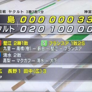 ○S3-6C カープ、終盤2イニング倍返し再発動。