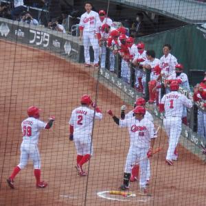 ○ C5-0D (10/18)ヒット数が半分でも勝てました。これも野球。