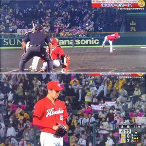 ● T2-0C  打てませんでした。阪神投手リレーに完敗