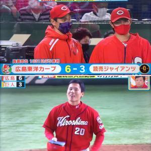 高橋昂也が3年ぶりの勝利。援護、ありました〜!○ G3-6C(4月24日)