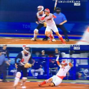 日本、ソフトボールで金メダル。美しい戦いでした。
