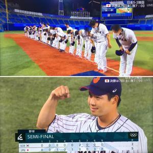 五輪・野球日本代表、韓国を下して決勝進出!