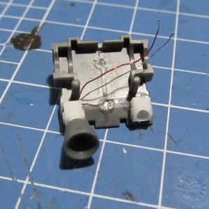 HG ガンダムORIGIN版 ランドセルの電飾改造