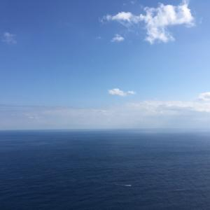 副鼻腔炎との戦いに疲れたら、海を見て気合いを入れる!