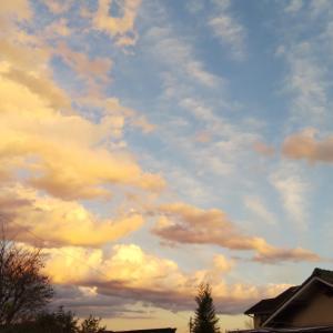 キレイな雲