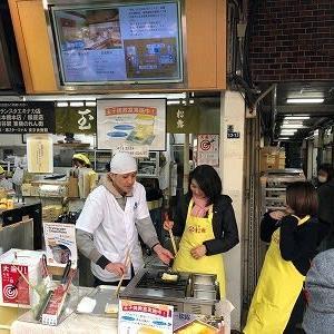 築地で牡蠣といったら、こちらです!観光客からも大人気です!!