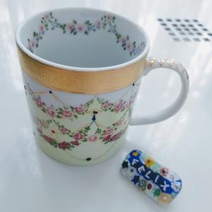 [アールポーセ] マグカップ(デカールコース課題)