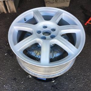 レガシィの冬タイヤ用ホイールを塗り直そう 完成