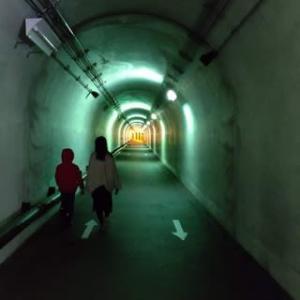 噂の清津峡渓谷トンネルへ