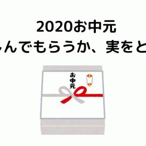 2020年お中元 楽しんでもらうか、実を取るか