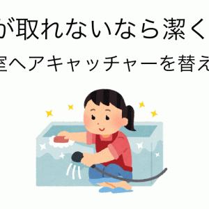 汚れが取れないなら潔く交換 浴室排水口ヘアキャッチャーを替える 暮らしの見直し第5期-22