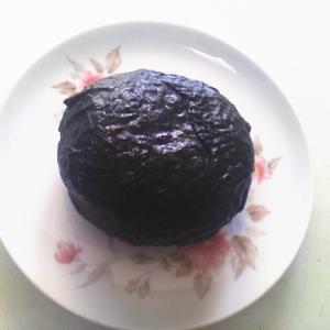 焼き海苔1枚を使った デカ丸おにぎり[家ごはん・簡単レシピ](20200404)
