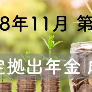 【2018/11 第3週】確定拠出年金の成果はいまいち 前週比ー12,214円