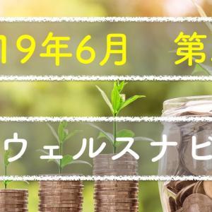 【2019年6月 第5週】ウェルスナビの成果(利益23,000円)
