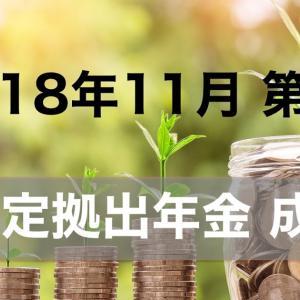 【2018/11 第2週】確定拠出年金の成果 前週比+8152円