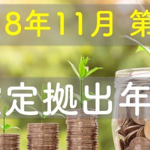 【2018/11 第4週】確定拠出年金の成果は順調 前週比+3,097円