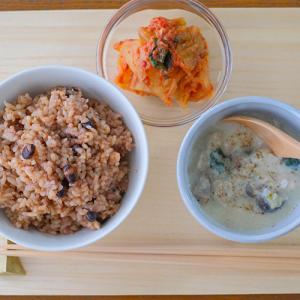 手作りキムチ完成♪ と、今日のお昼ご飯