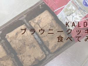 KALDIのブラウニークッキーレポと、ダッカで唯一恋しくなる味