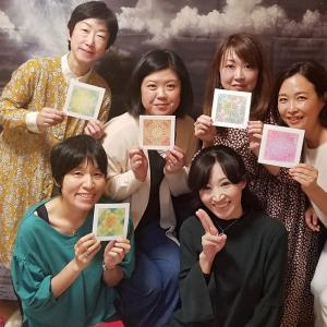 魔女のお茶会開催しました「兵庫のろくちゃん先生の曼荼羅ワーク体験会」/